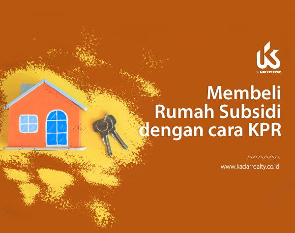 Membeli rumah subsidi